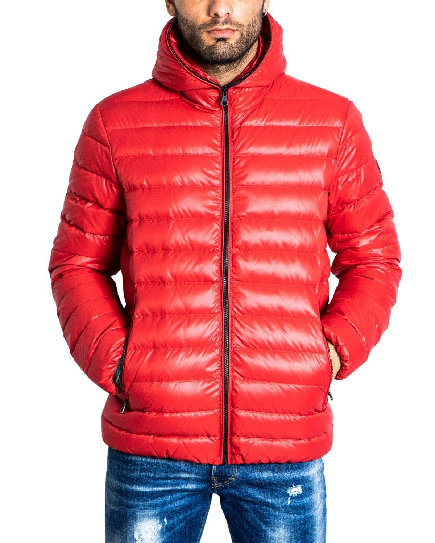 Ea7 Men's Jacket Green 321823 - red S