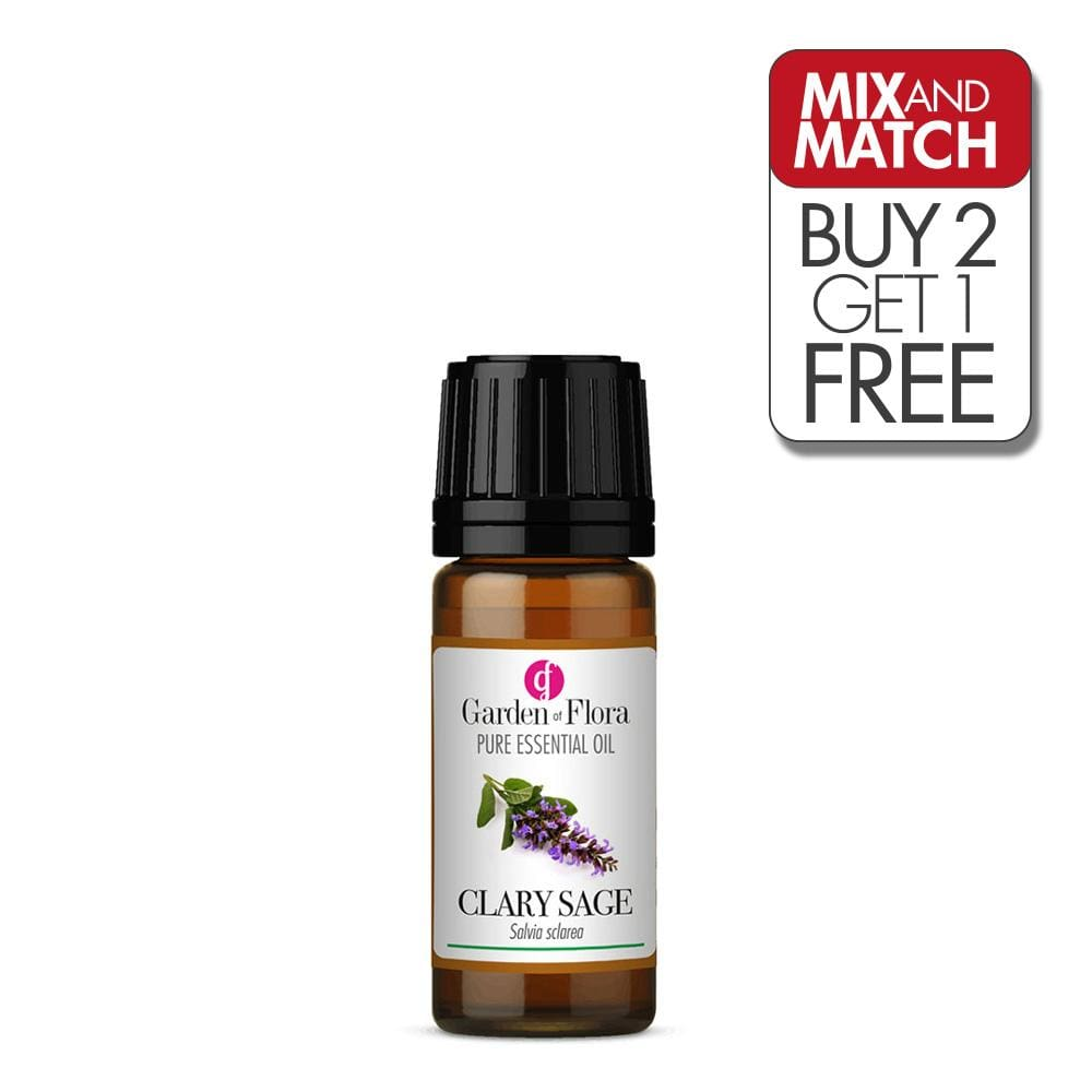 Clary Sage Pure Essential Oil (10ml)