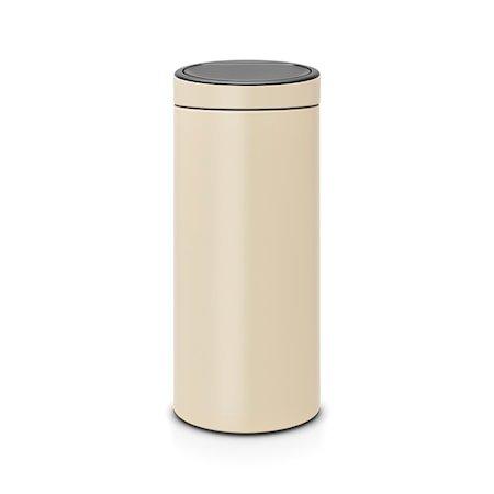 Touch Bin NEW, plastinnerbøtte 30 L Mandel