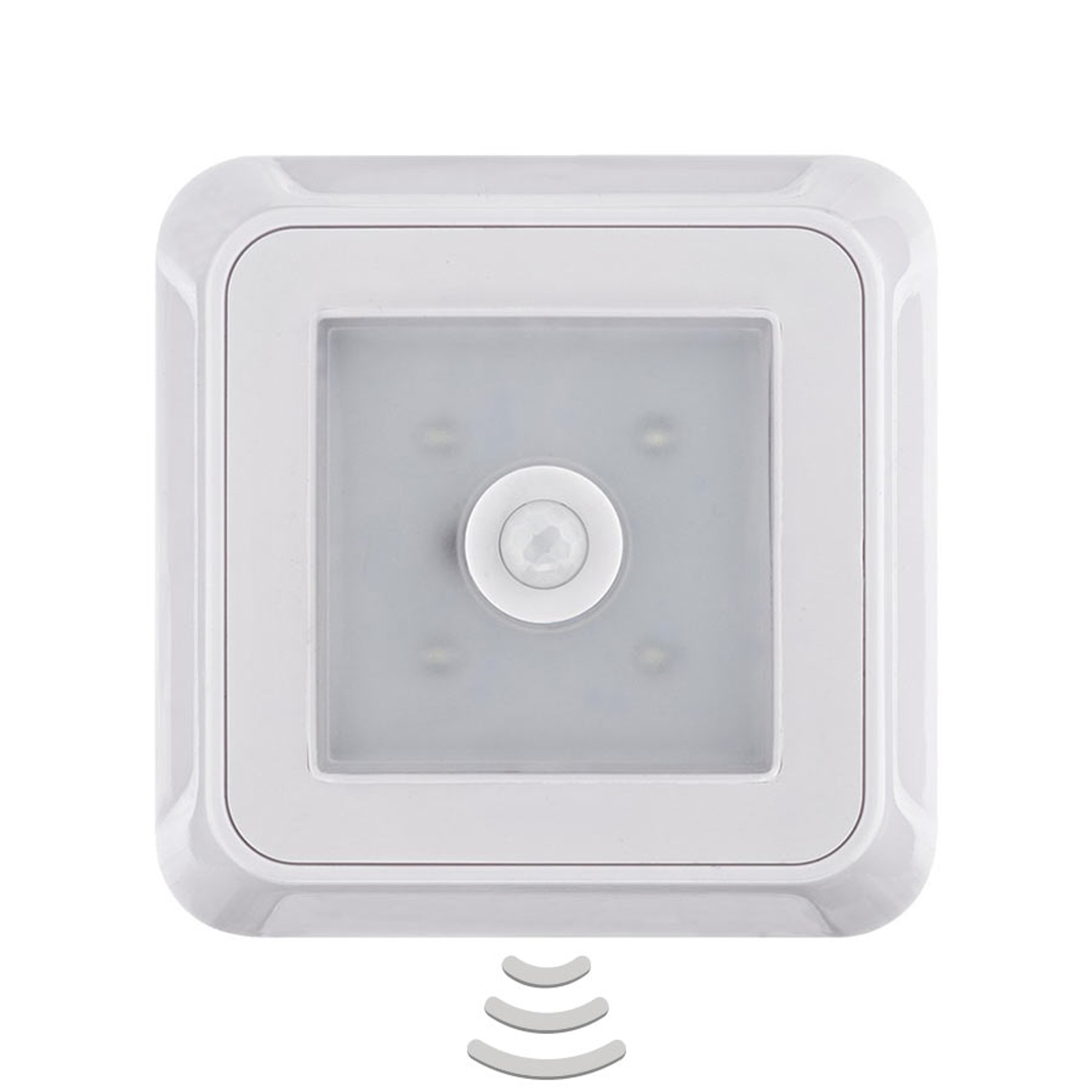 Kulmikas Square Light Sensor -kalustevalaisin