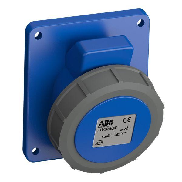 ABB 2CMA102299R1000 Paneluttak hurtigtilkoblet, vibrasjonsbestandig Vinklet, 3-polet, 16 A