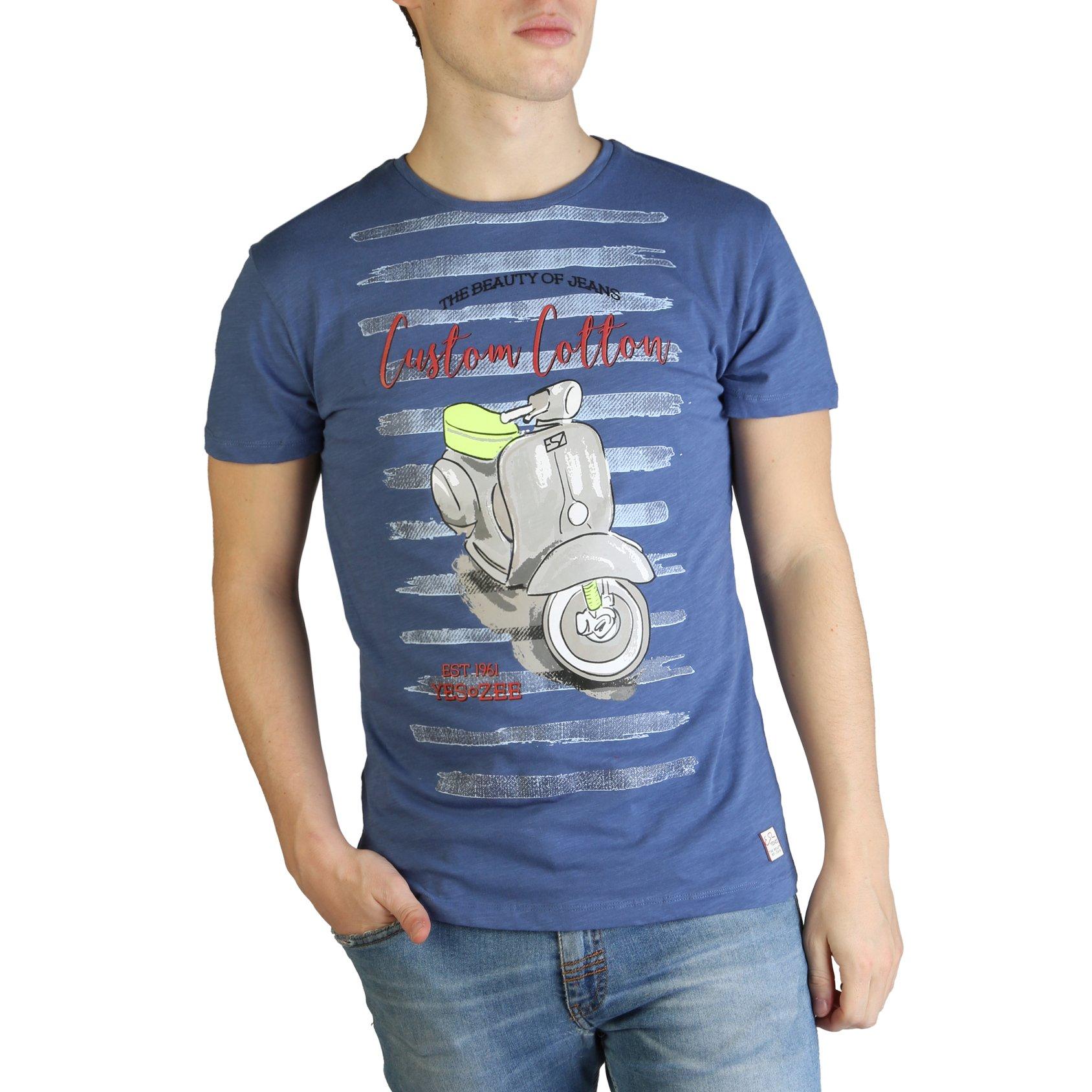 Yes Zee Men's T-Shirt Various Colours T700_TL10 - blue S