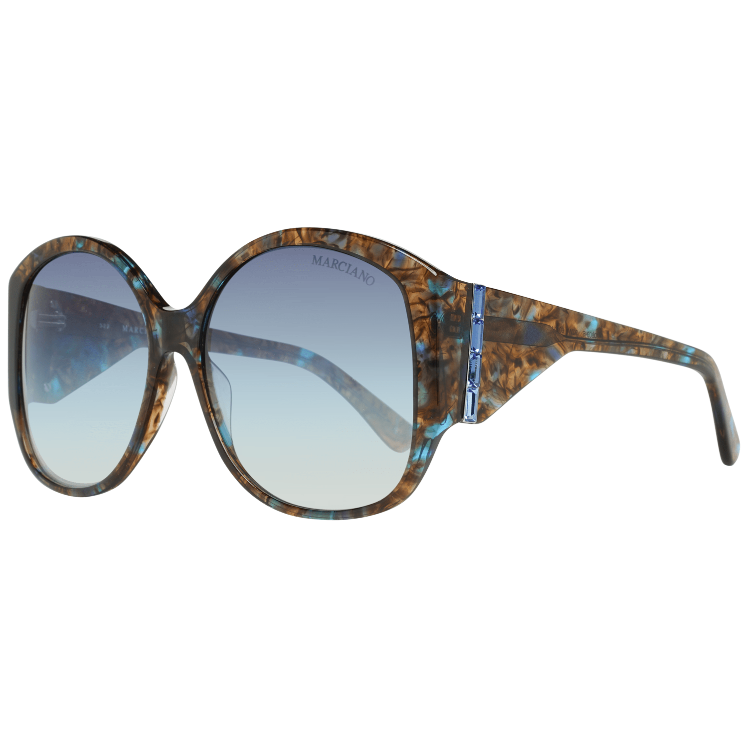 Guess By Marciano Women's Sunglasses Blue GM0809-S 6092W