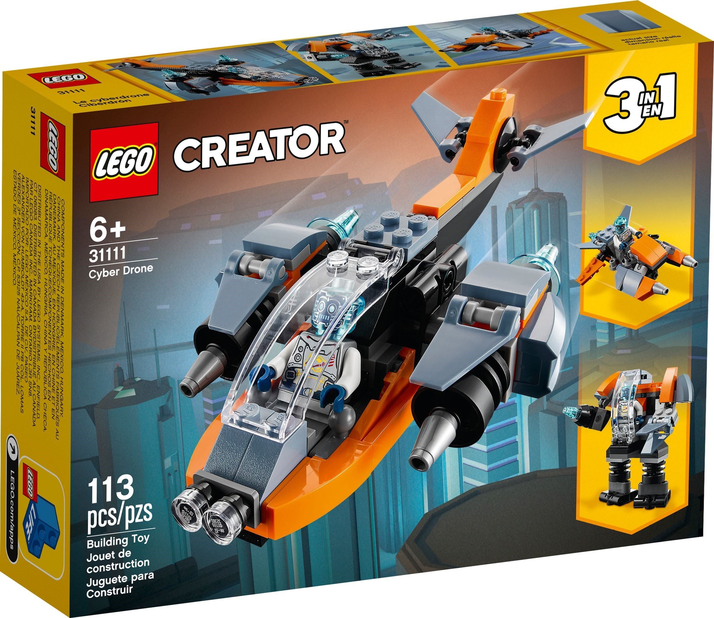 LEGO Creator - Cyber Drone (31111)