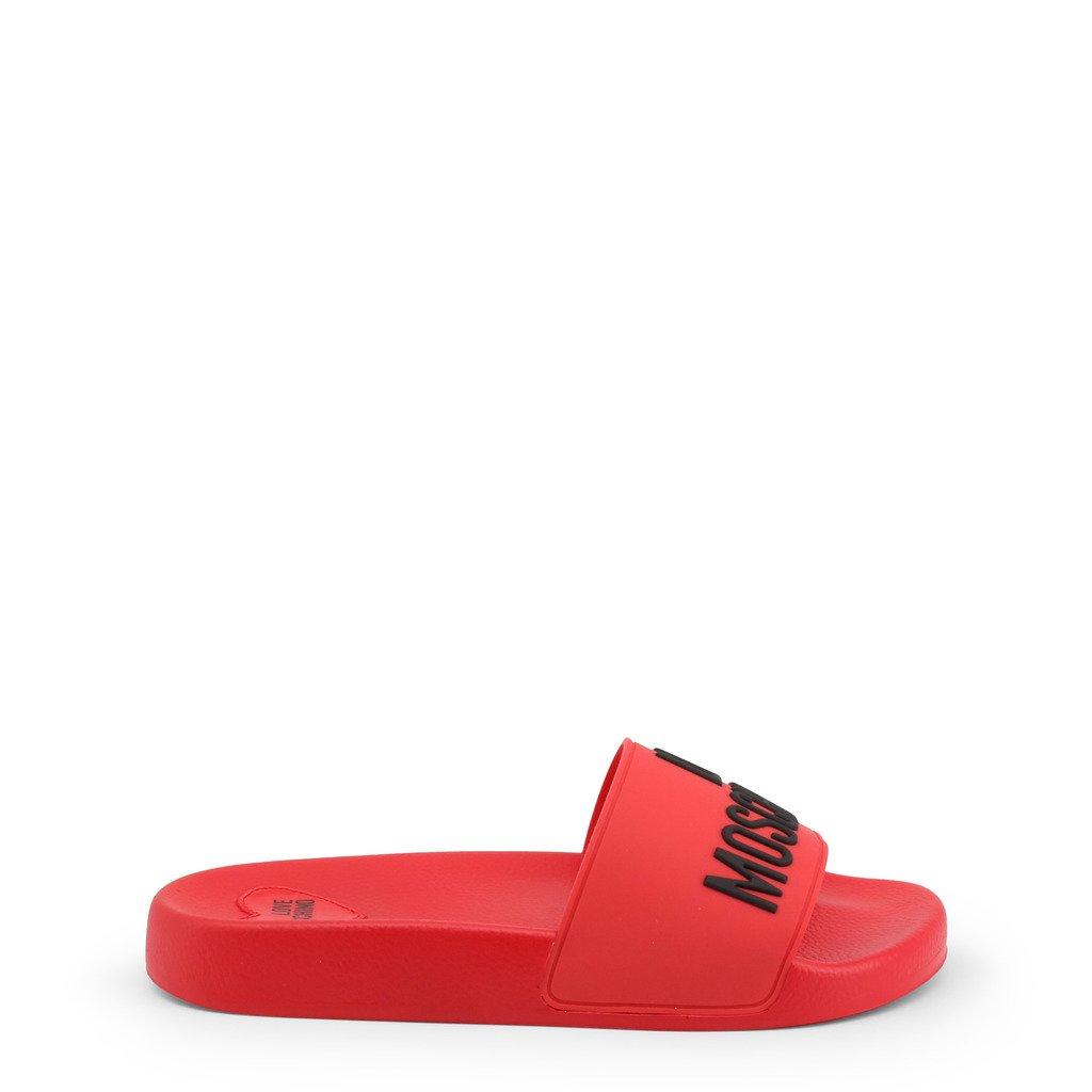 Love Moschino Women's Flip Flop Various Colours JA28052G1CI14 - red EU 35