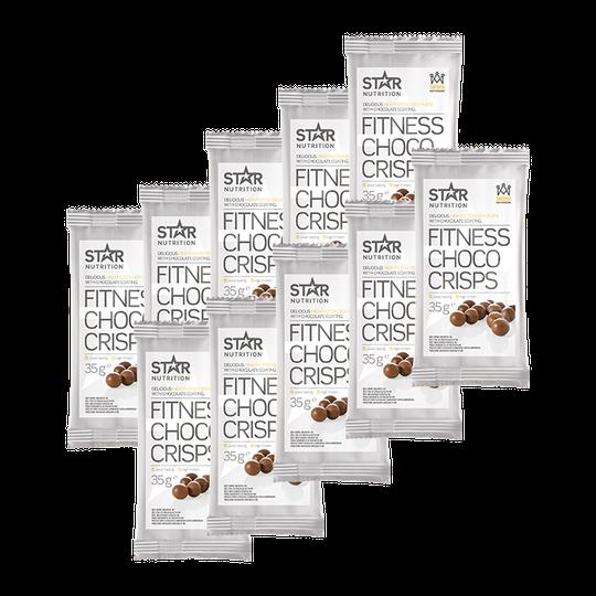 Fitness Choco Crisps BIG BUY, 350 g