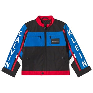 Calvin Klein Jeans Color Block BMX Jacka Svart 6 years