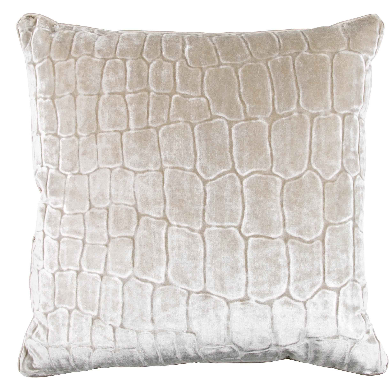 Zinc Romo I Caiman Cushion | Linen 50x50cm