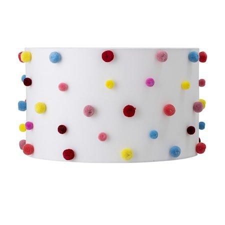 Lampeskjerm Multi-color Polyester