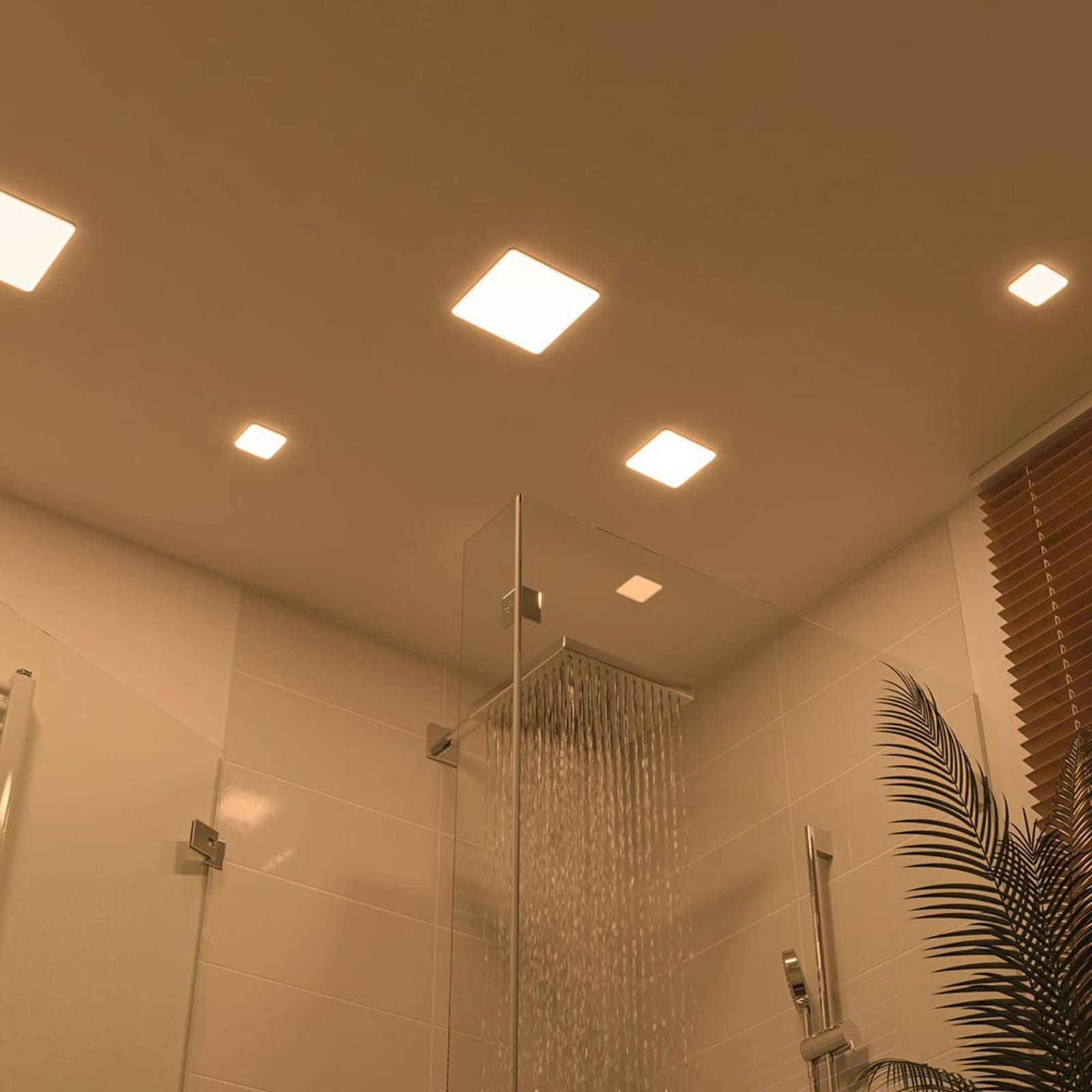 Paulmann LED-panel Veluna 3 000 K kantet 18,5 cm