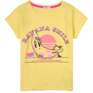 Billieblush Banana Print T-shirt Gul 4 år