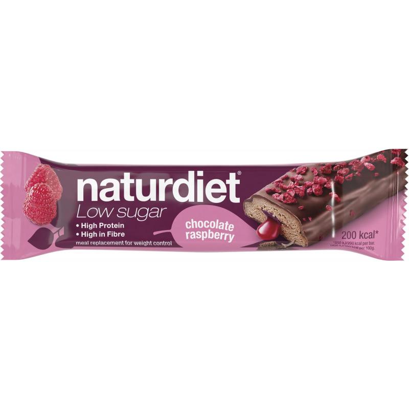 """Mealbar """"Chocolate & Raspberry"""" 58g - 47% rabatt"""