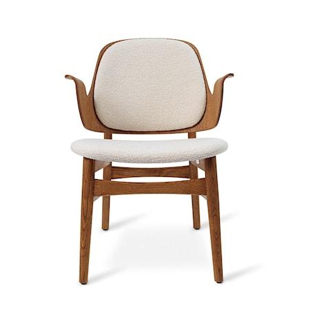 Gesture Lounge Chair B Cream Teak