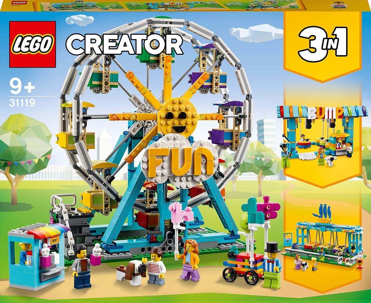 LEGO Creator 3-in-1 31119 Maailmanpyörä