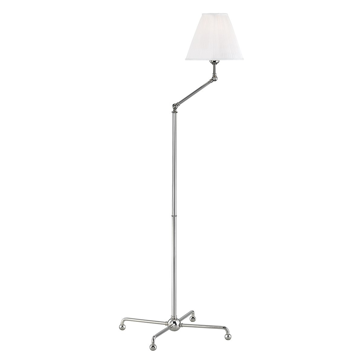 Hudson Valley I Classic No 1 Floor Lamp I Polished Nickel