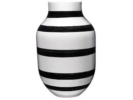 Omaggio vase Svart H 30,5 cm