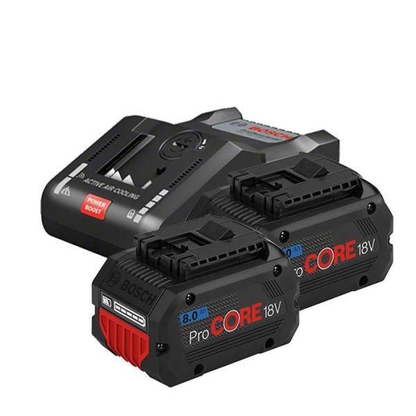 Bosch GAL 18V-160 + 8,0Ah ProCORE Ladepakke