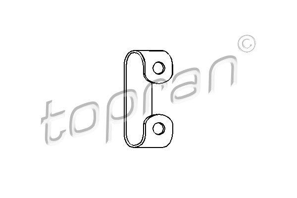 Korjaussarja, pakoputki TOPRAN 102 748