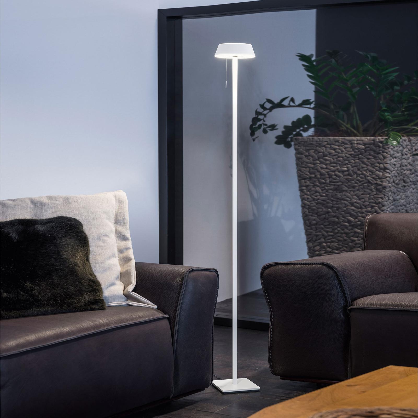 OLIGO Glance LED-lattiavalaisin, matta valkoinen