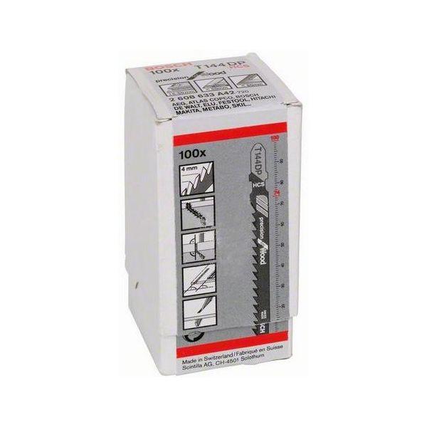 Bosch Precision for Wood Stikksagblad 100mm 100-pakn.