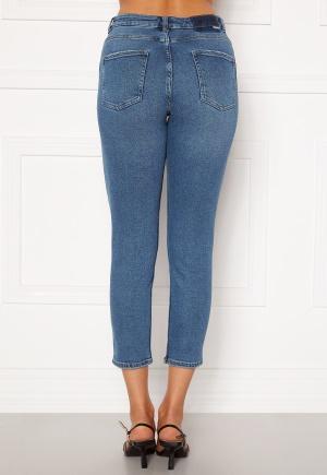 ONLY Erica Life Mid Ank Jeans Dark Blue Denim XS/32