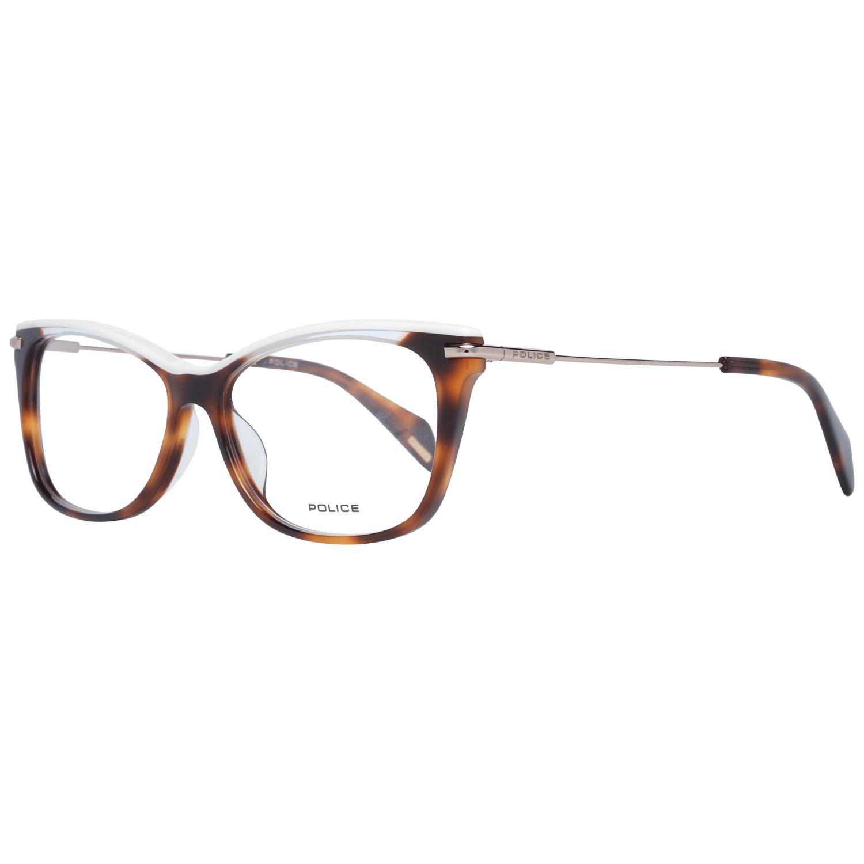 Police Women's Optical Frames Eyewear Brown PL506E 5309AJ