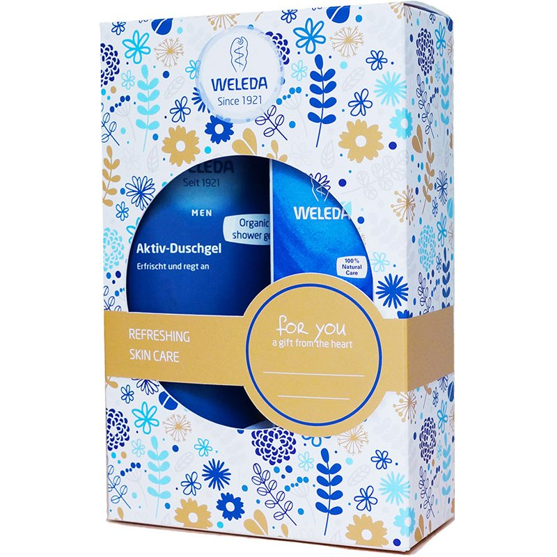 "Vartalonhoitosetti ""Refreshing Skin Care"" - 35% alennus"