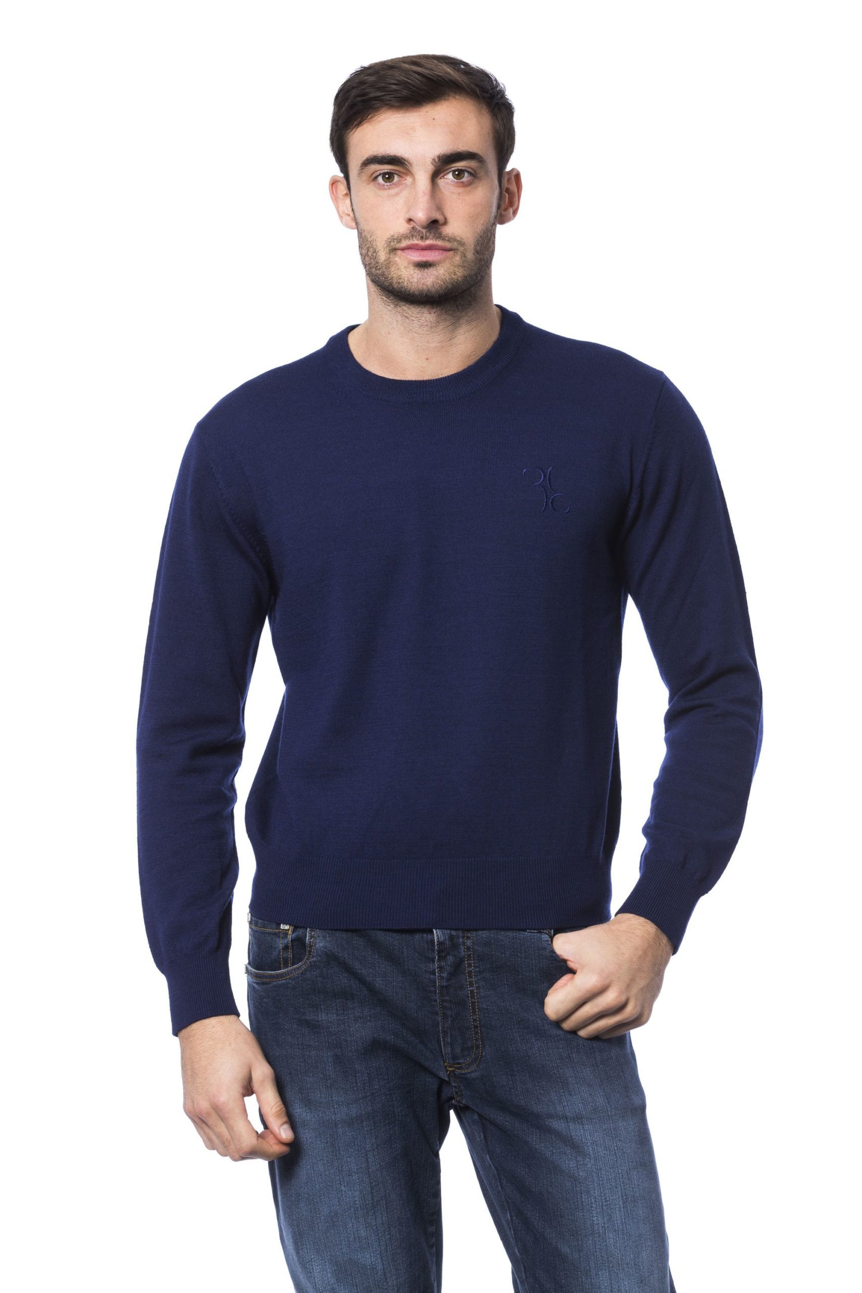 Billionaire Italian Couture Men's Sweater Blue BI1271803 - L