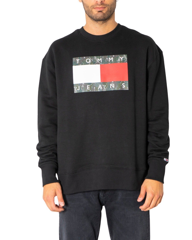 Tommy Hilfiger Jeans Men's Sweatshirt Various Colours 308082 - black XS