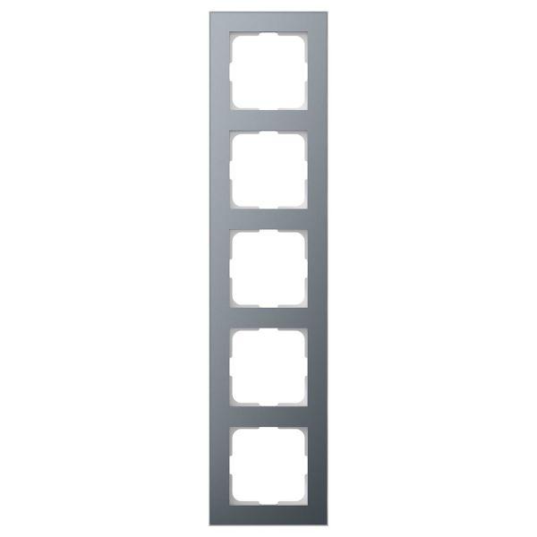 Elko EKO06907 Yhdistelmäkehys tina/alumiini 5-paikkainen