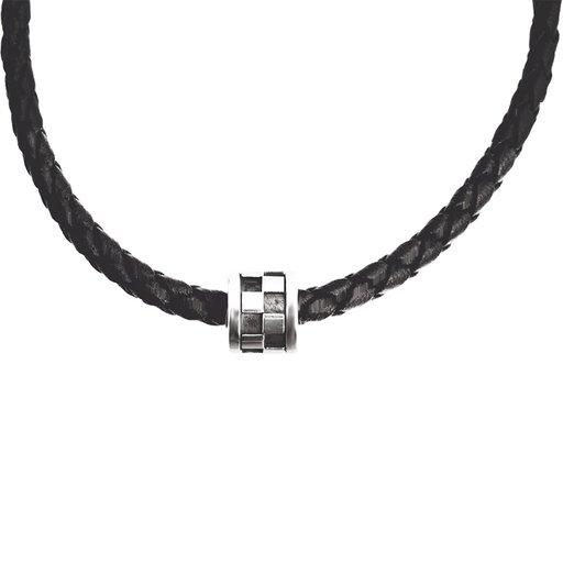Halsband i läder 45cm
