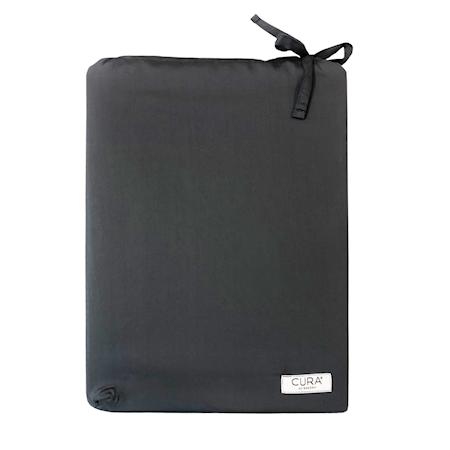 CURA Tencel Dynetrekk Dobbelsett Mørkegrå 200 x 220 cm