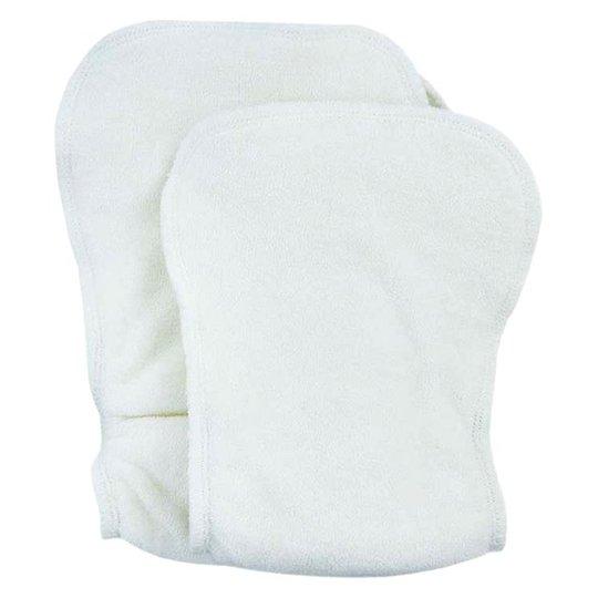 ImseVimse Inlägg för One Size-blöja av ekologisk bomullsfrotté, 2-pack