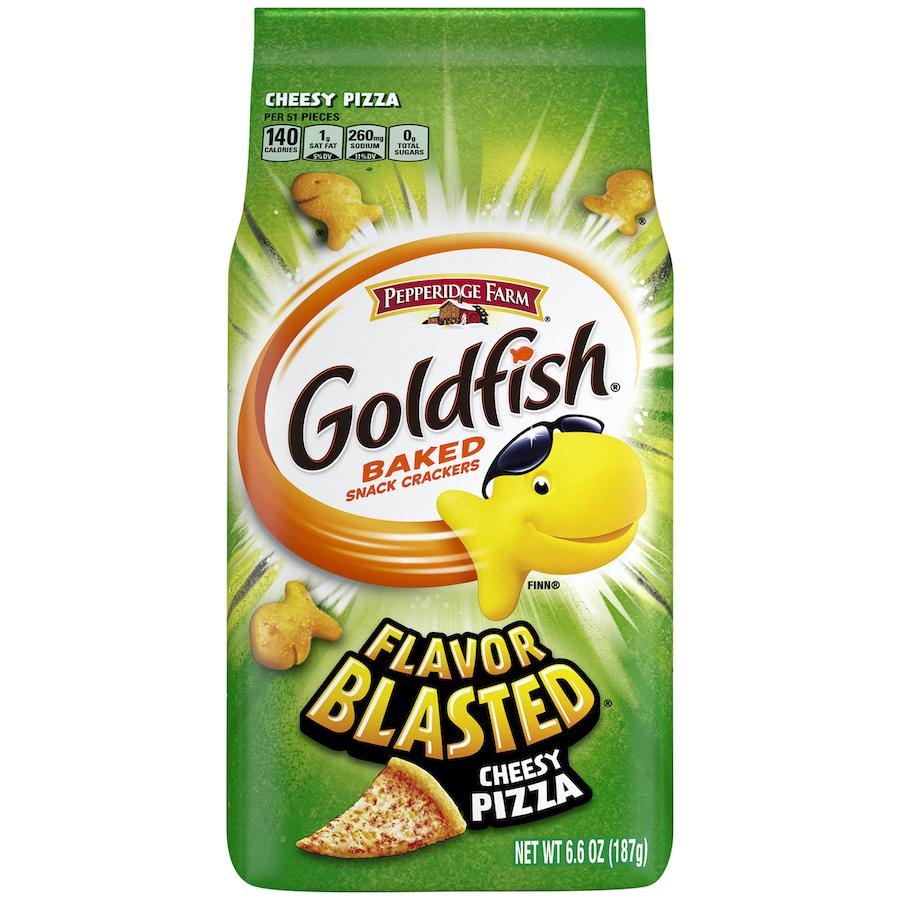 Goldfish Flavor Blasted Cheesy Pizza 187g