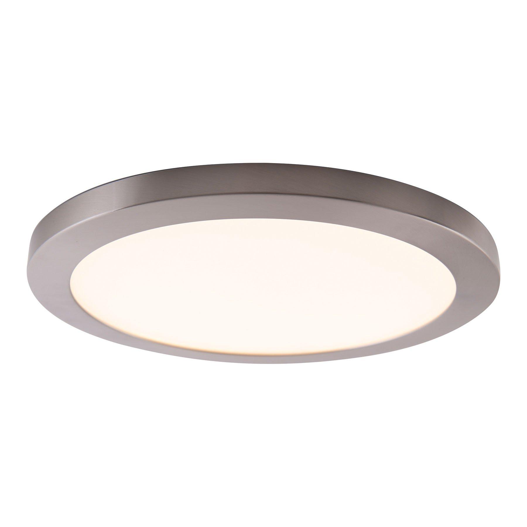 Bonus LED-taklampe med magnetring, Ø 33 cm