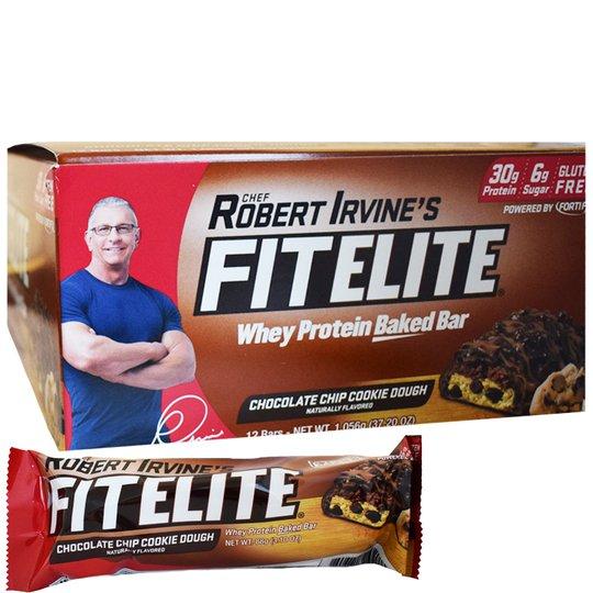 "Hel Låda Proteinbars ""Chocolate Chip Cookie Dough"" 12 x 88g - 46% rabatt"