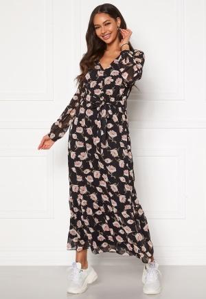 Happy Holly Ninni maxi dress Black / Patterned 36/38