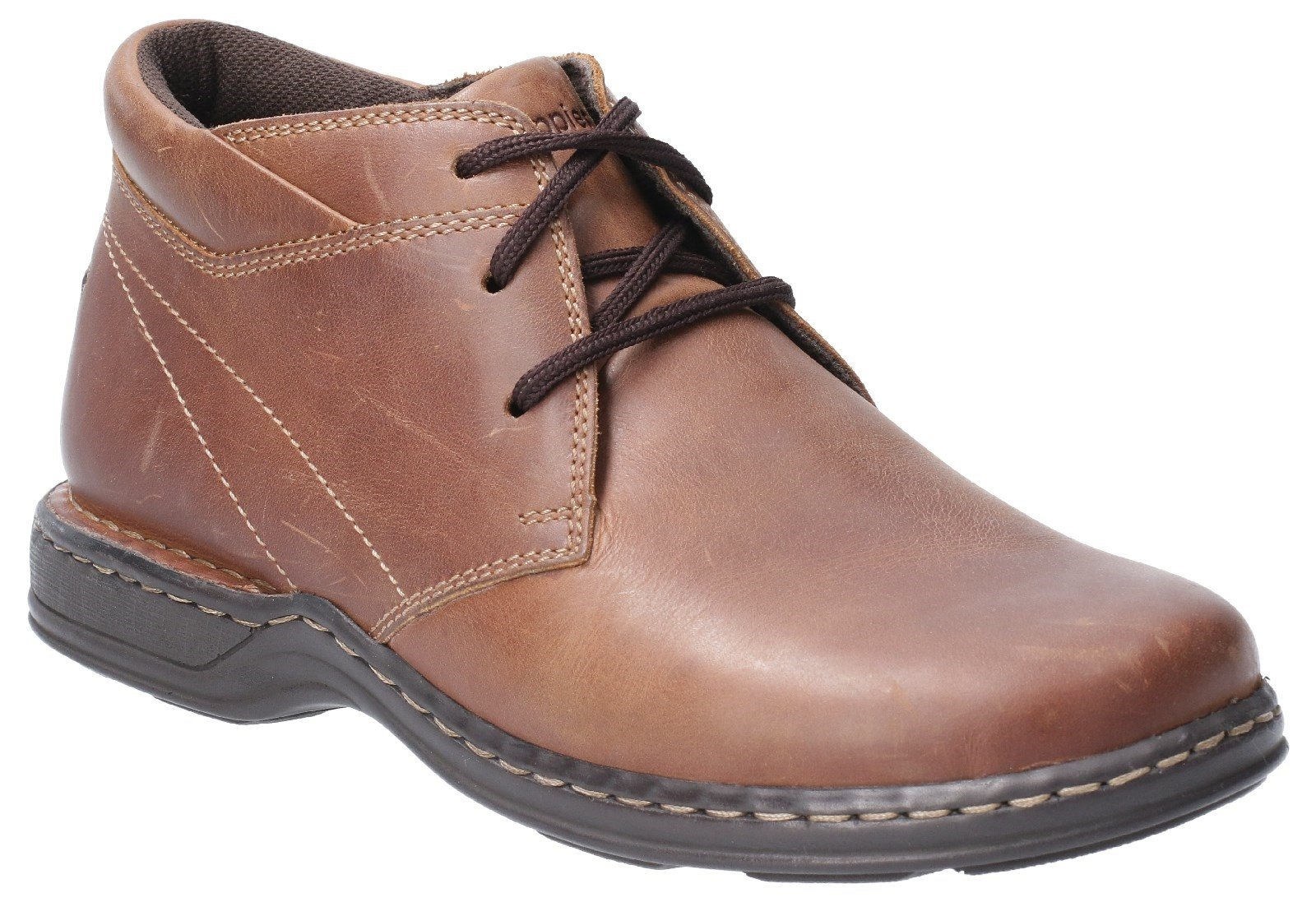 Hush Puppies Men's Reggie Lace Up Shoe Various Colours 29171 - Brown 6