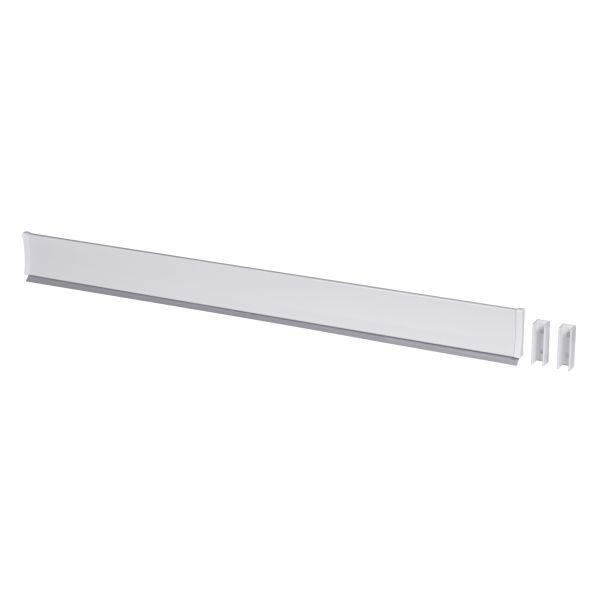 Leijma 8109 Dusjkant rett, hvit 110 cm