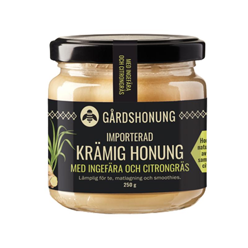 """Honung """"Ingefära & Citrongräs"""" 250g - 37% rabatt"""