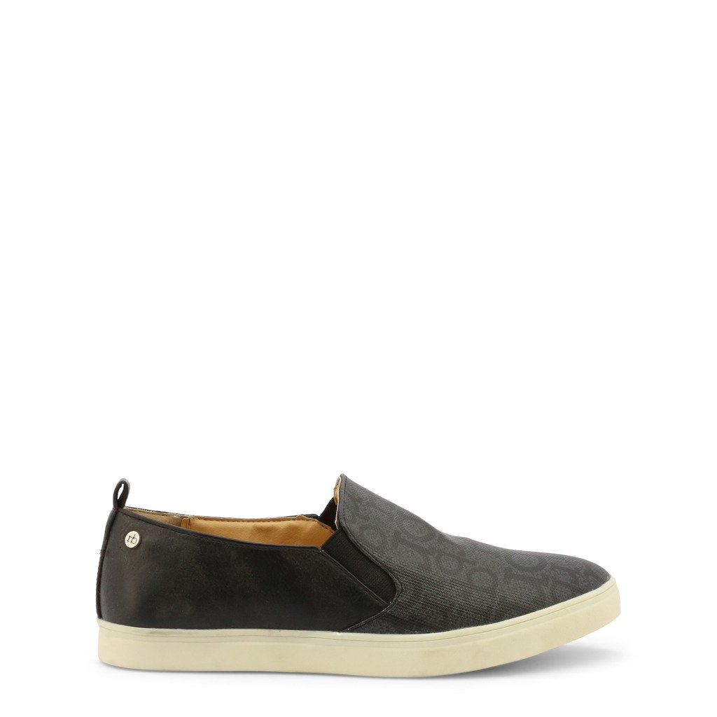 Roccobarocco Women's Slip on Shoe Black RBSC0LM03CRY - black EU 37