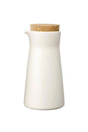 Teema Karaffel 20 cl med lokk hvit