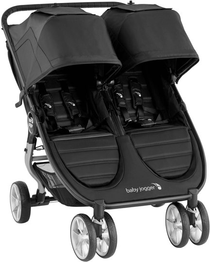 Baby Jogger City Mini 2 Søskenvogn, Jet