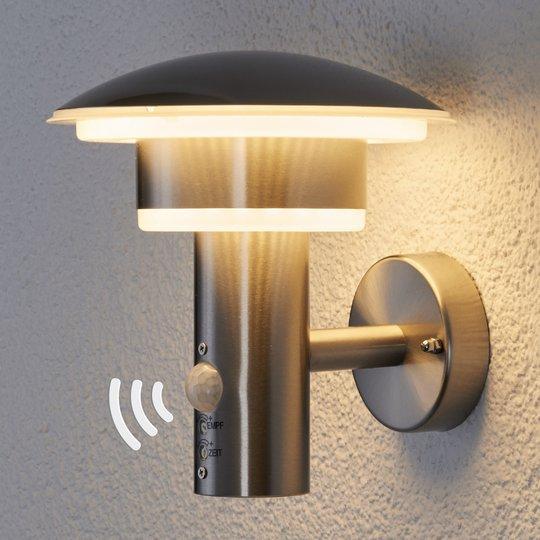 LED-ulkoseinävalaisin Lillie, materiaali PIR