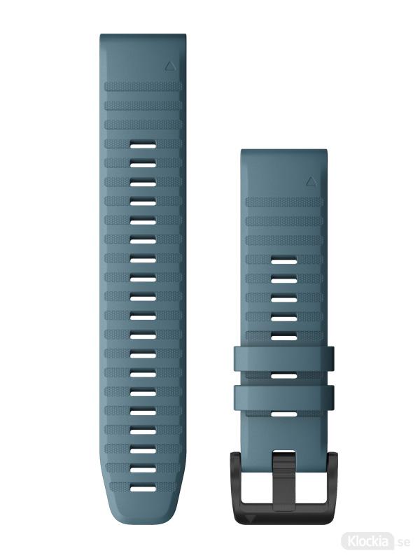 Garmin QuickFit 22mm - Klockarmband, Gråblå Silikon