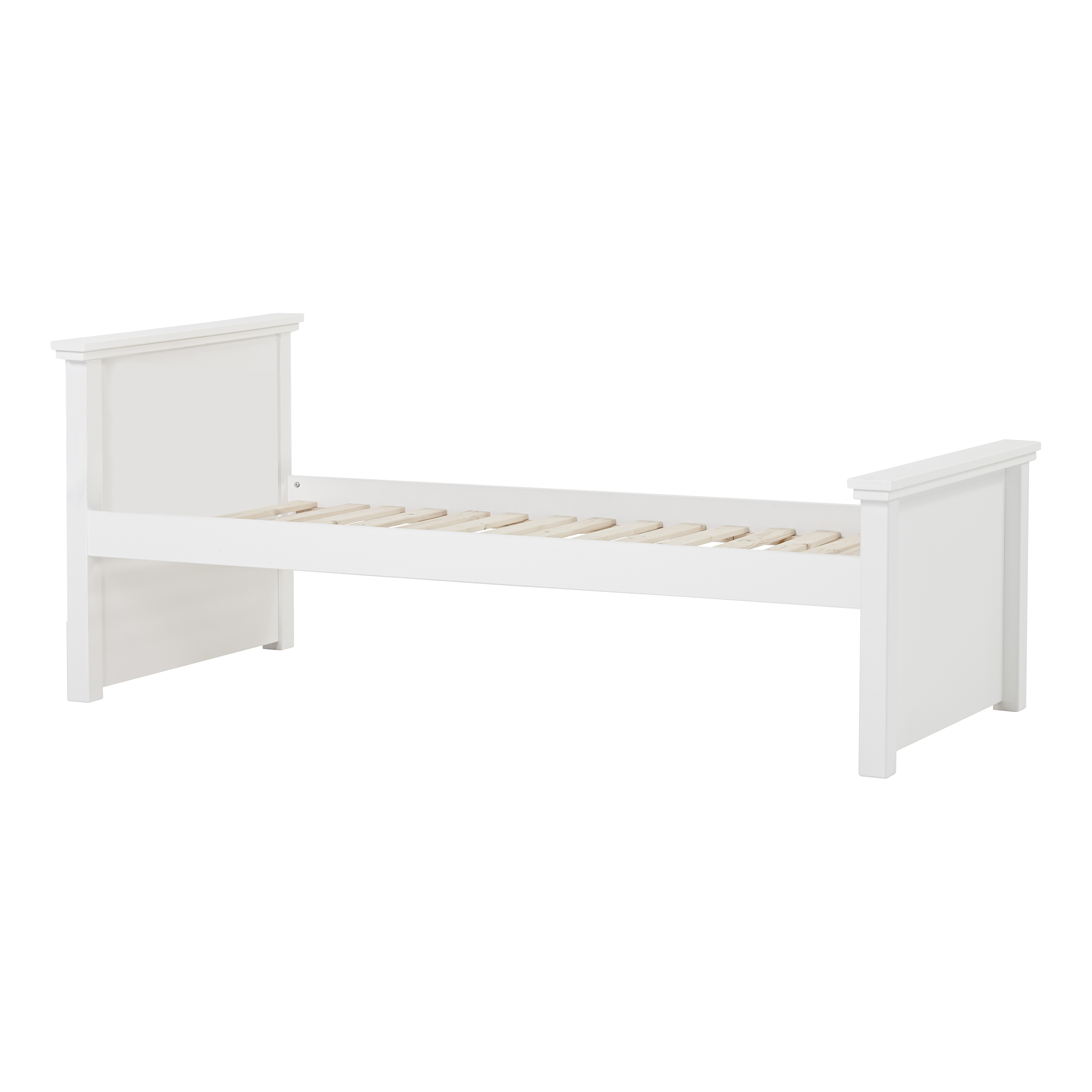 Hoppekids - MAJA DELUXE Junior bed w. High and Medium bed ends 90x200 cm - White