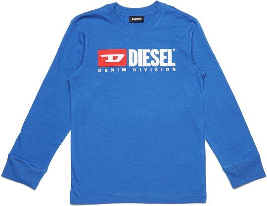 Diesel Tjustdivision Ml T-Shirt, Turkish Sea 10 År