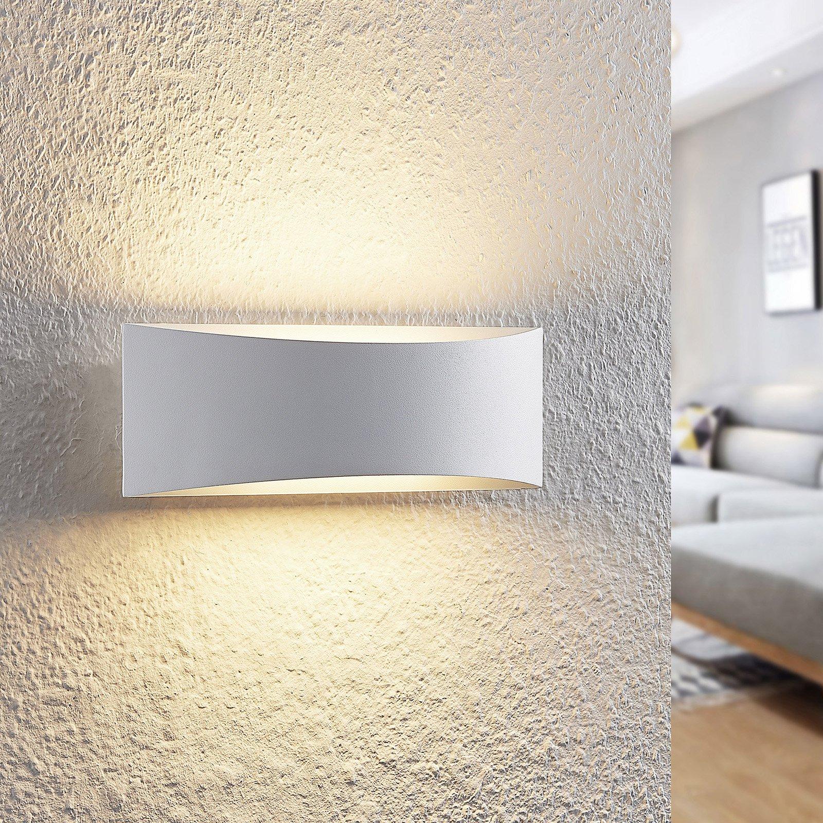 Arcchio Danta LED-vegglampe, hvit