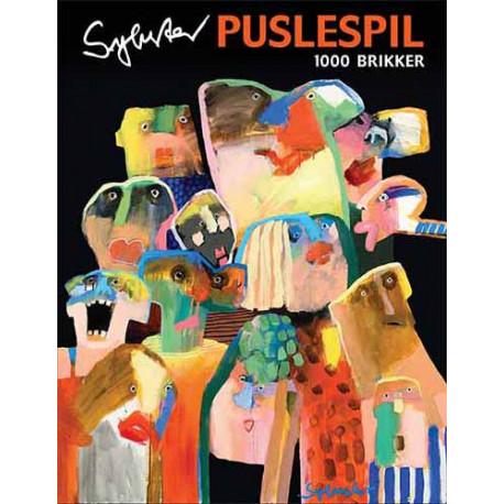 Art Puzzle - Leif Sylvester (1000 pieces)