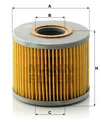 Öljynsuodatin MANN-FILTER H 1018/2 n